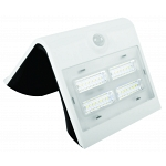 LED solar wall lamp sconce 3.2W 6000K + 3000K sensor IP65