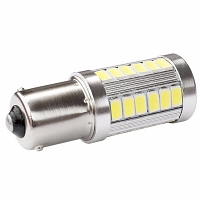 BAU15S with 33 SMD 5630 Cool White